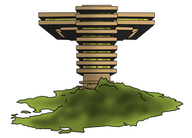 The Titans Tower by Leon4989
