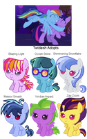 Twidash Adopts by StarryOak