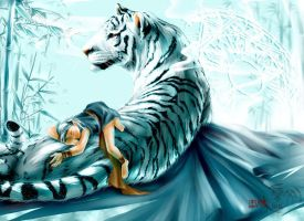 White tiger by levineh