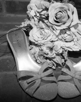 Shoes and Flowers by MMoreland