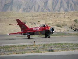Red Bull Mig-15 Taxi by Qphacs