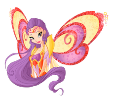 Tine Bloomix.Winx club by Forgotten-By-Gods