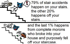 Stair riddle solved by totaldarwin