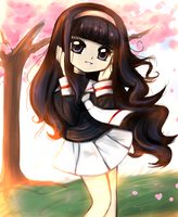 Tomoyo by AlexRockCat