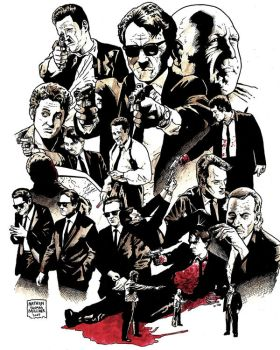 RESERVOIR DOGS by MalevolentNate