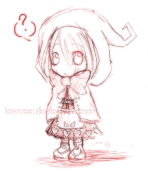 Doodle: Little red... by Leversa