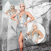 Png pack #57 Lady Gaga by blondeDS
