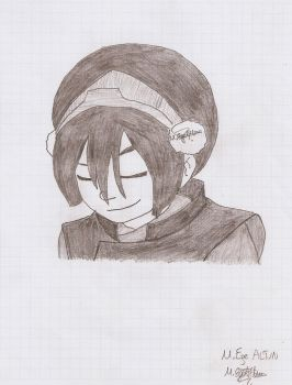 Charcoal Toph 2  Avatar by MEAltair