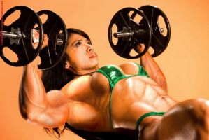 Female muscle 20 by BigDane