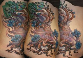 Twisted Tree Tattoo by Phedre1985