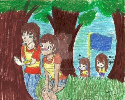 Capture the Flag: BLUE TEAM by nessaaa95