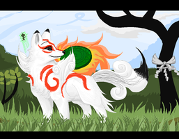 Amaterasu by calistamonkey