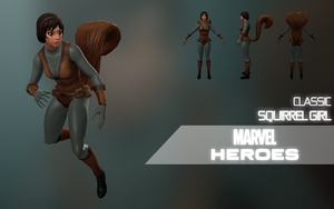 Marvel Heroes: Squirrel Girl (Classic) by LEMOnz07