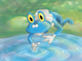 Froakie by AskFroakie