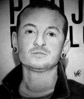 Chester Bennington by Maiconvaz