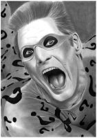 Jim Carrey Riddler by donchild