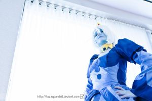 Staredown - Ice Queen (Adventure Time) - ACEN2012 by fuzzypanda0