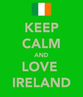 Keep Calm and Love Ireland by Eevee2May