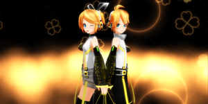 Kagamine append by chocosunday