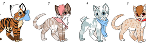 KittyCat Point Adopts Batch 4 CLOSED by Akssel-Adopts