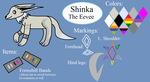 Ref sheet- Shinka by Piplup-Luv