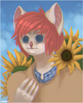 sunflower by CobaltTheCat