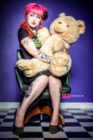 Teddy Pin Up by Miss-Cherry-Martini