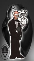 BLACK LANTERN ventriloquist by RWhitney75