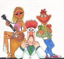 Richard Hunt's Muppets by MoonCREEPER