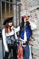 Jack Sparrow and Angelica by LordProtoMan