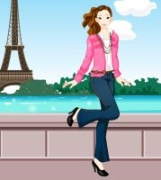 Holiday in Paris by raine25000