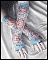 Asylum Arm Warmers by ZenAndCoffee