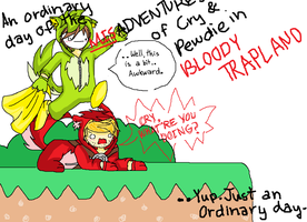 (Mis)Adventures in Bloody Trapland. by xChronicLiar