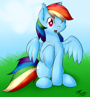 Rainbow Dash by extreme-sonic