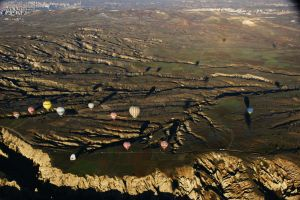 Cappadocia from the Sky 5 by Heurchon