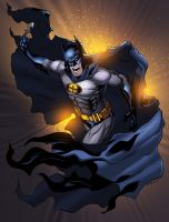 Splashing the color on Bats by therealARTURO