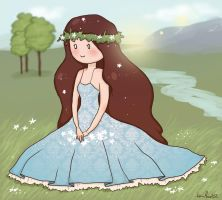 Chilli the flower princess by Anolee