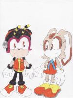 Cream x Charmy by BlueSpeedsFan92