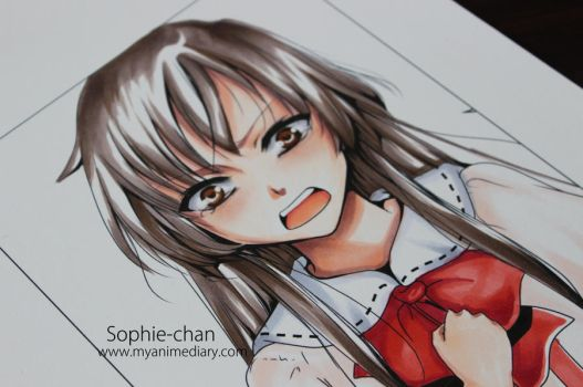 Lia - Copic tutorial by Sophie--Chan