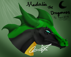 Medalia the Dragoness by Hippie30199