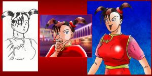 Xiaou Tekken 3 by Veinctor