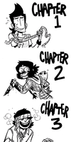 Sakana chapter illustrations by MyNameIsMad