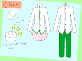 SDC- chef uniform reference by pengguchan