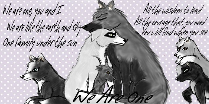 We Are One by LittleLadyLylokie