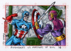 Captain America vs Baron Zemo - MGH by tonyperna