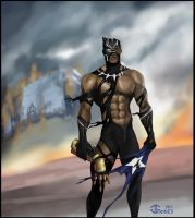 Last Avenger Standing - Black Panther by gkgaines