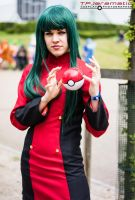 Sabrina - The Mistress of Psychic-type Pokemon by TPJerematic