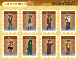Veli-Pekka's Wardrobe by Lazy-a-Ile
