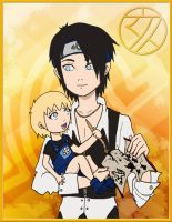 Young Kitsune and Ino-chan  NGAEON by 1amm1