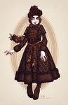 Fallene's Fall and Winter Travel Dress by Seitou